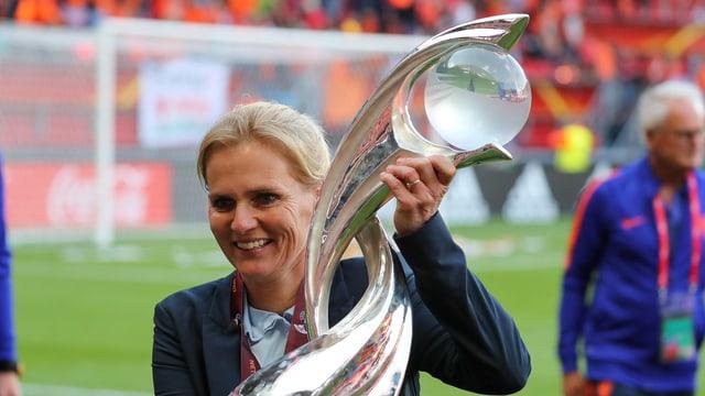 Trainerin Sarina Wiegman.