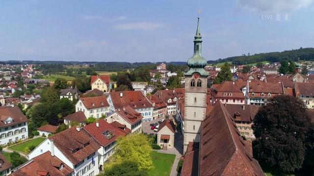 Video ««SRF bi de Lüt – Sommerfest»: live aus Bischofszell» abspielen