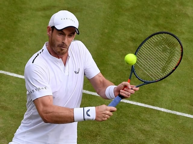 Andy Murray greift am ATP-Turnier in den USA ins Geschehen ein.