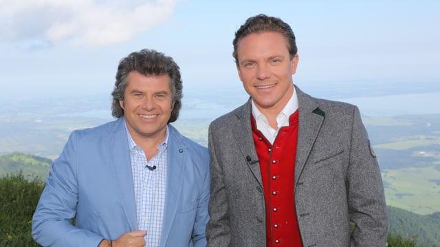 Andy Borg und Stefan Mross.