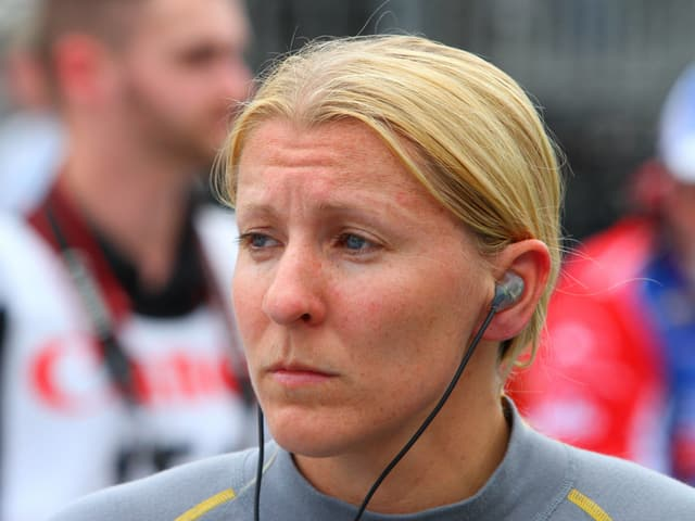 IndyCar-Fahrerin Pippa Mann.