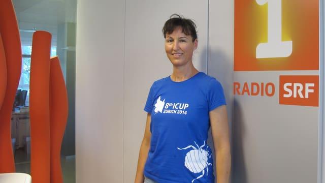Gabi Müller, Leiterin der Beratungsstelle Schädlingsbekämpfung in Zürich