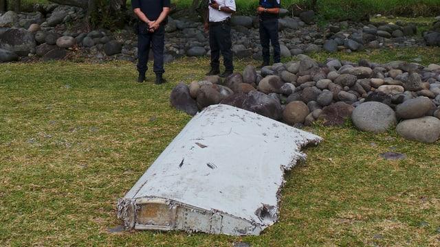 Ina part d'in aviun che pudess esser da l'aviun sparì da la Malaysia Airlines.