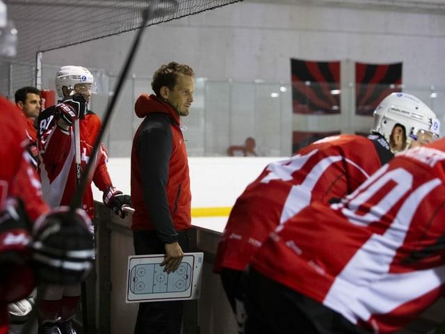 Nationaltrainer Patrick Fischer.