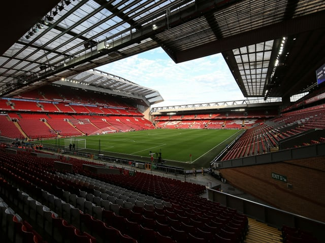 Anfield in Liverpool.