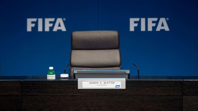 Leerer FIFA-Sitz