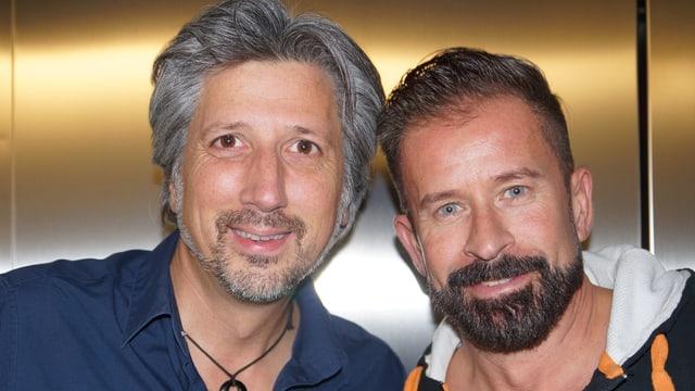 Roger De Win und Leonard.