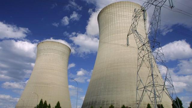 Ein Kernkraftwerk.