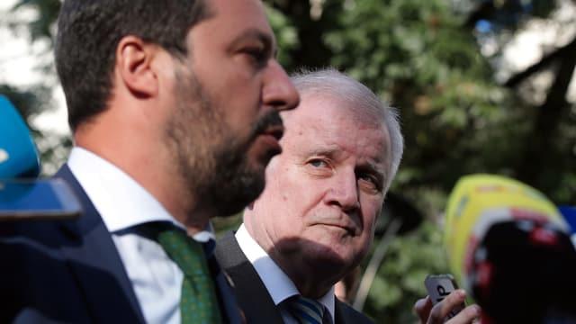 Seehofer und Salvini