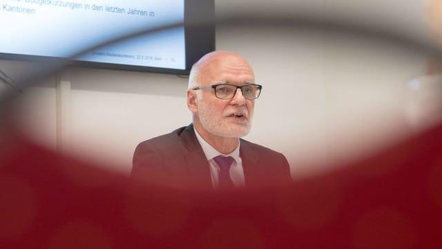 Beat Rudin, Präsident der kantonalen Datenschützer
