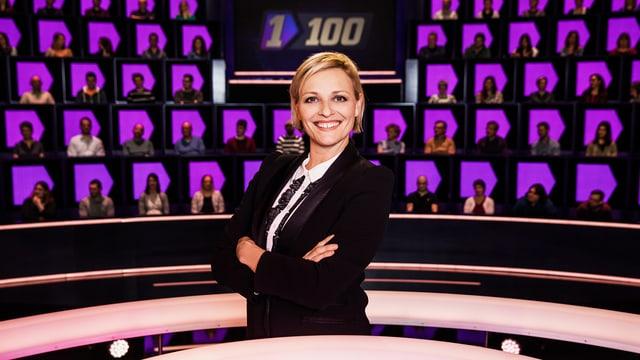 Susanne Kunz, Moderatorin «1gegen100»