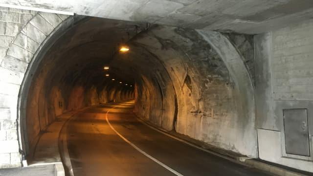 L'entrada d'in tunnel.