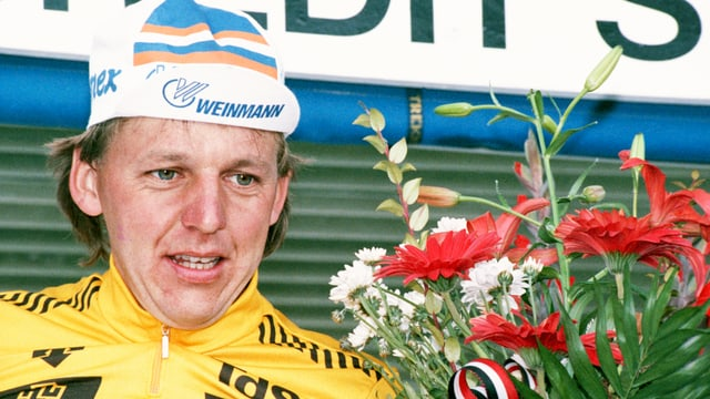 Beat Breu als junger Radrennfahrer