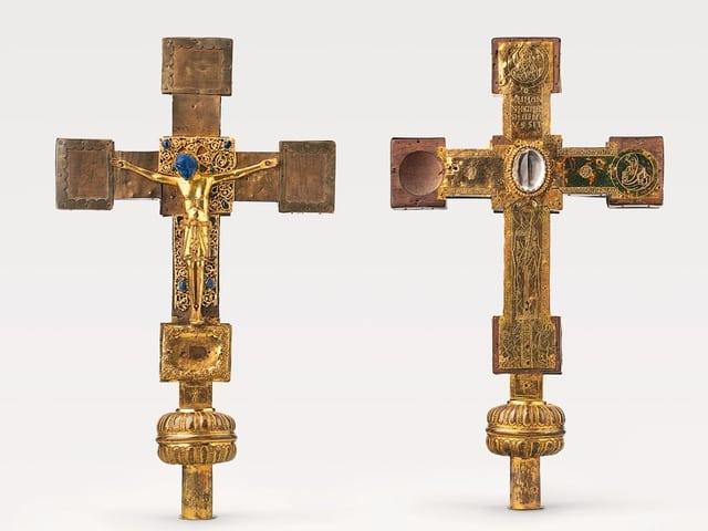 Kreuz Herimanns und Idas (Vorder- und Rückseite)