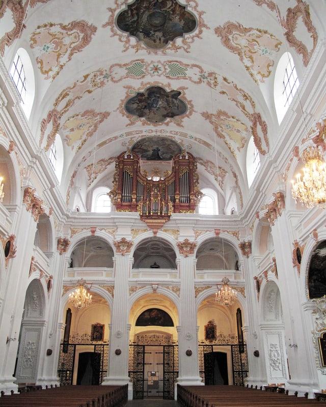 Gewölbe der Jesuitenkirche Luzern