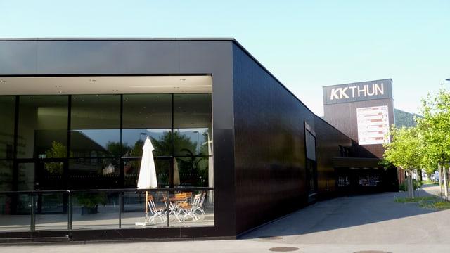 Das neue Kultur- und Kongesszentrum Thun.