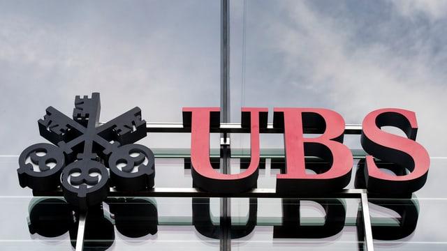 Purtret dal logo da l'UBS.