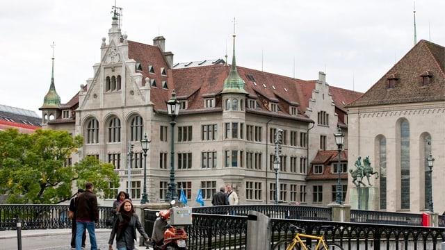 Zürcher Stadthaus.