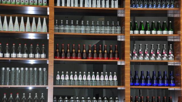 La bar d'aua minerala da l'hotel Quellenhof.