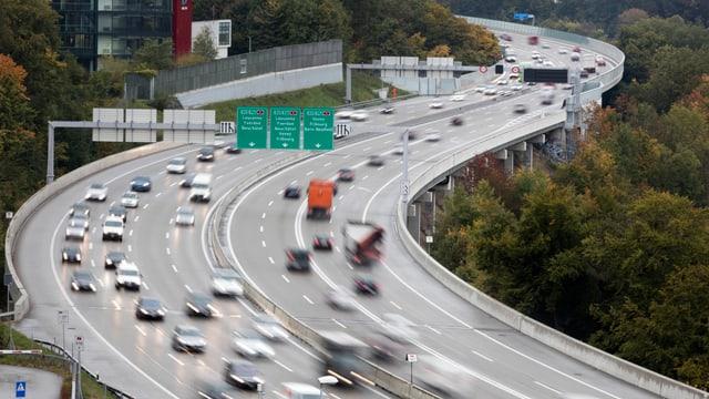 Autostrada cun bler traffic