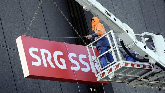 Il logo da la SRG SSR.