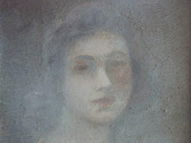 Frauenporträt (um 1926/35). Verbleib unbekannt.