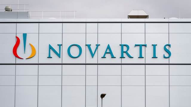 fatschada d'in bajetg da Novartis
