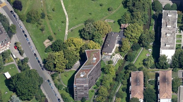Luftaufnahme Schwarzpark