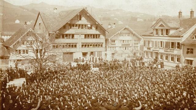 Landsgemeinde Appenzell Innerrhoden 1897