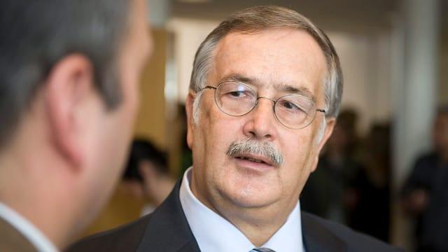 Alt-Regierungsrat Adrian Ballmer