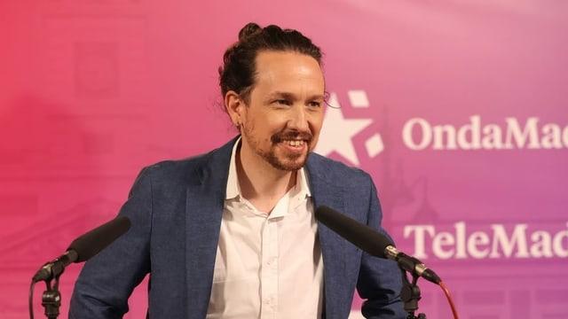 Pablo Iglesias, der Kandidat von Podemos.