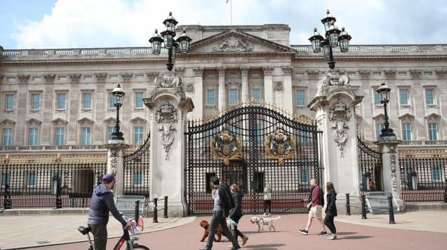 Der Buckingham-Palast bleibt diesen Sommer geschlossen.