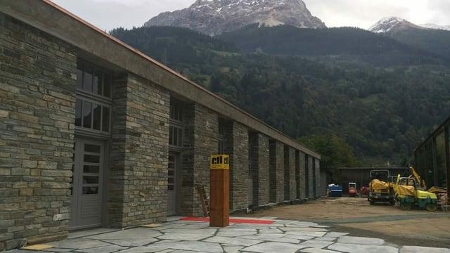 Il Centro tecnologico del legno a Poschiavo.