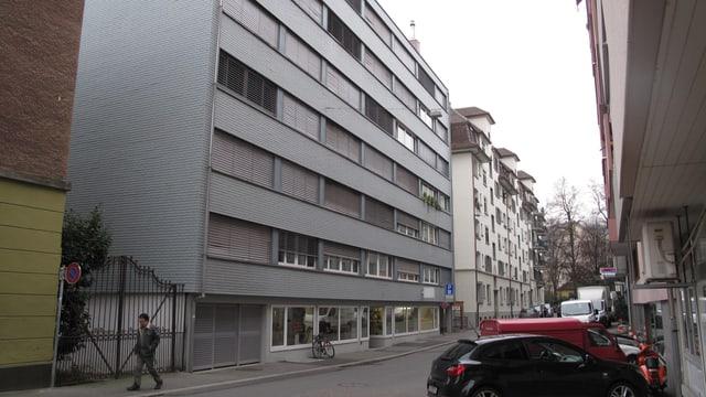 Das GSW-Gebäude am Neuweg in der Stadt Luzern.