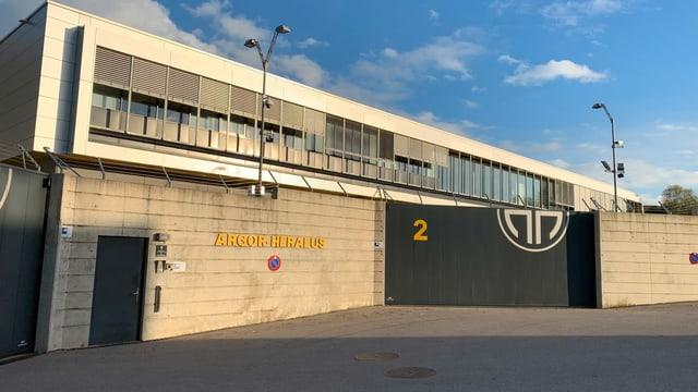 Der Hauptsitz von Argor in Mendrisio.