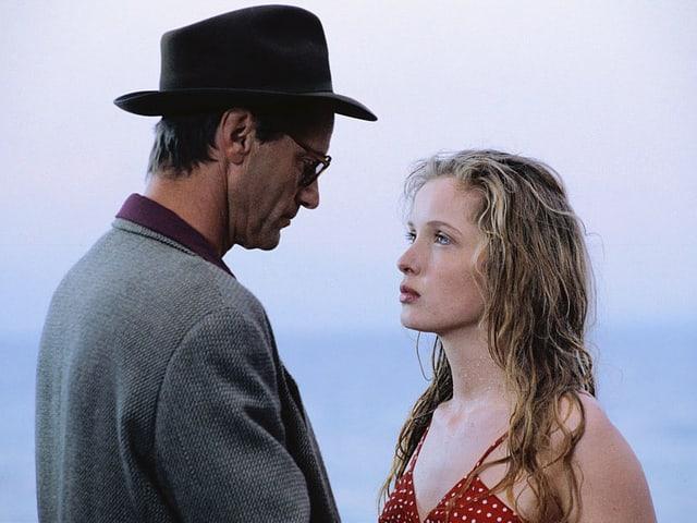 Sam Shepard und Julie Delpy in «Homo Faber» (1991).
