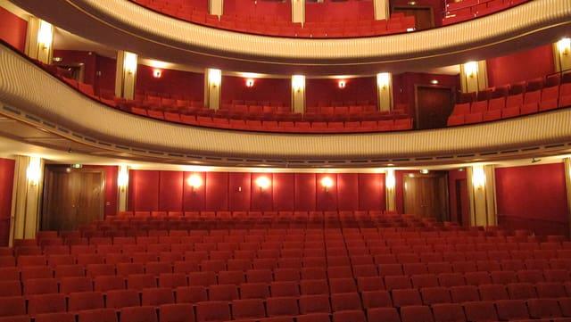 Blick ins leere Schaffhauser Theater.