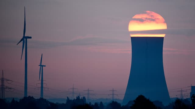 Steinkohlekraftwerk in Niedersachsen.