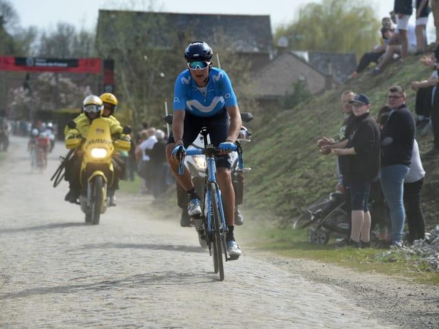 Marc Soler bei Paris-Roubaix