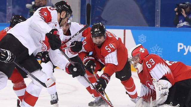 Purtret da l'equipa naziunala da hockey als gieus olimpics.