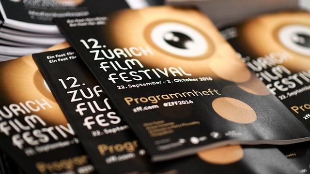 Programmheft 12. Zurich Film Festival