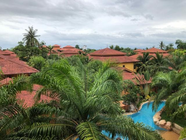Ansicht Lotuswell Resort von oben