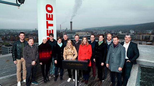 Das Team von «SRF Meteo»