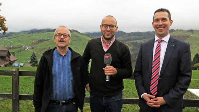Peter Hartmann, Jonathan Fisch, Michael Götte