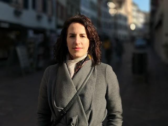 Sarina Pensa, la City-Managera da la citad da Rheinfelden.