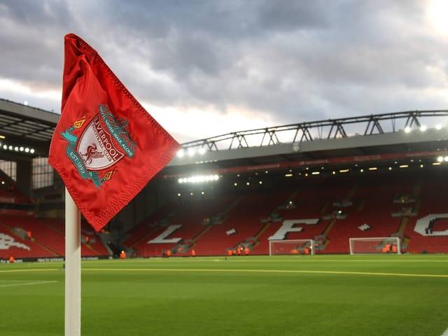 Die Anfield Road, Heimstätte des FC Liverpool.