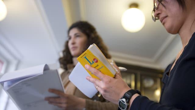 Die Sprachkurse sind an der Universität Basel sehr beliebt.