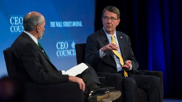 US-Verteidigungsminister Ashton Carter: «Es ist für uns wichtig, dass auch andere mitmachen.»