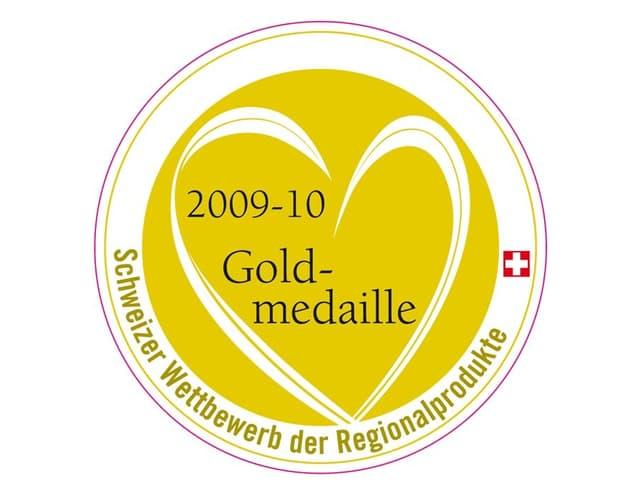 Medaille Schweizer Wettbewerb für Regionalprodukte