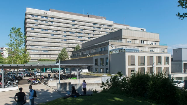 Ein Teil des Universitätsspitals Lausanne